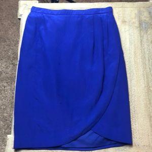 Gorgeous women's Madewell purple silk skirt 00